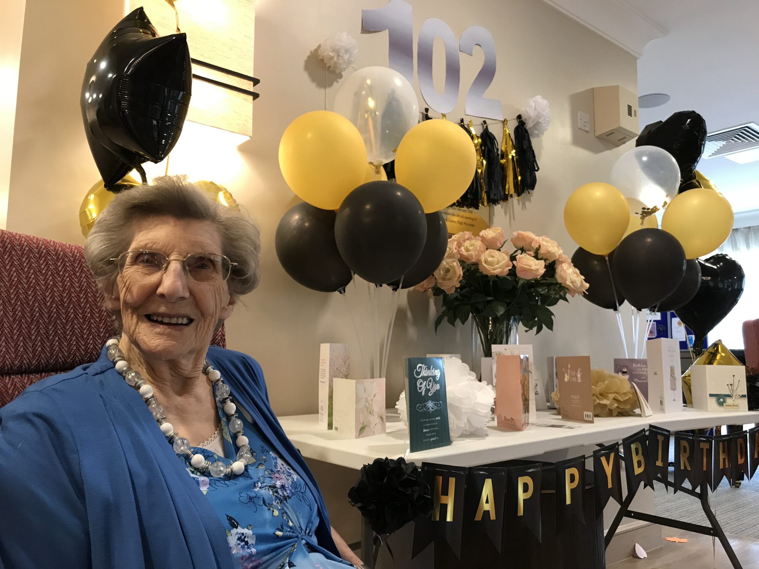Happy Birthday Ena, 102 Years Young
